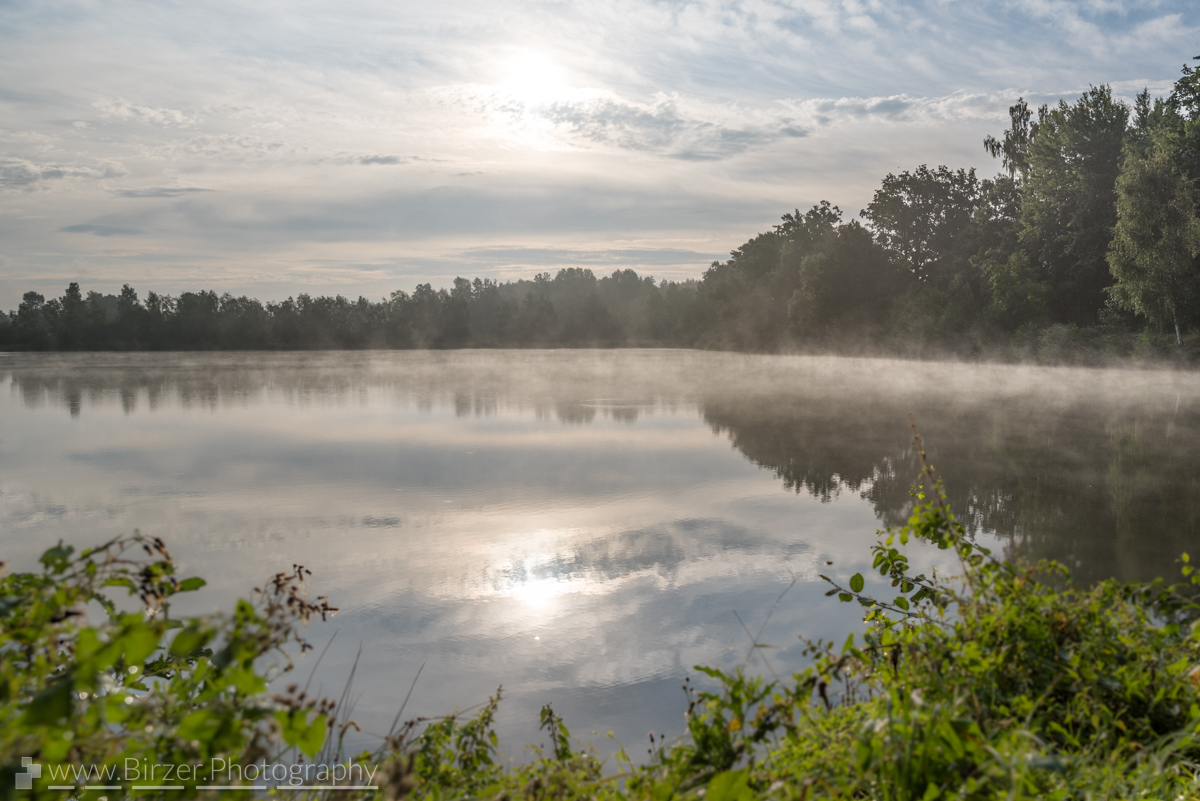 misty reflection