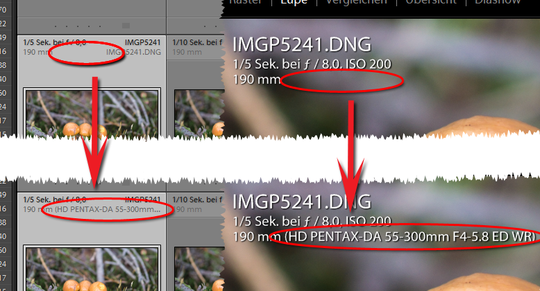 Lightroom tip: assign unknown lenses
