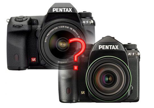 Vergleich Pentax K-5 und K-1 im Cropmodus